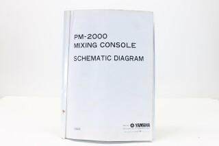 PM-2000 Mixing Console Schematics Manual F-8348-x